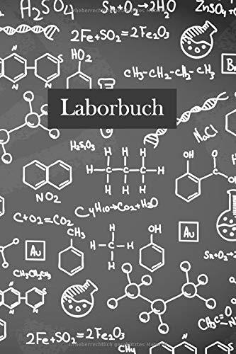 Laborbuch: Forschung Chemie Notizbuch | Mit Extra Experiment Vorlagen | Für\'s Labor & Studium | Für planen, organisieren und dokumentieren | 105 Seiten | ca. Format A5 |