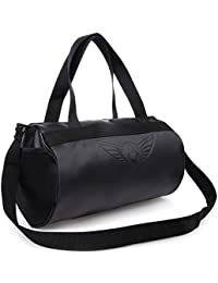 AUXTER BLACKY Gym Bag Duffel Bag Emboss Logo ( Black )