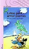 LETRAS PARA ARMAR POEMAS par Ana Maria Pelegrin