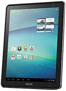 ARCHOS 97carbon, 16GB, 24,6cm (9.7Zoll) kapa. Multitouch IPS-Display, Android 4.0, Google Play Store, 1GHz, 1GB RAM, WiFi-n, 2 Cams