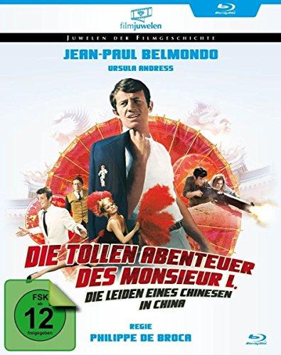Die tollen Abenetuer des Monsieur L. auf Blu-ray