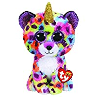 "TY/Beanie Boos Buddy 9"" Giselle the Uni-Leopard, Perfect Plush!"