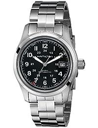 Hamilton reloj caqui Campo Automático H70455133hombre