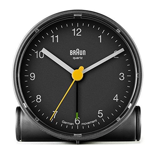 Braun - Despertador clásico Crescendo BNC001BK, color negro