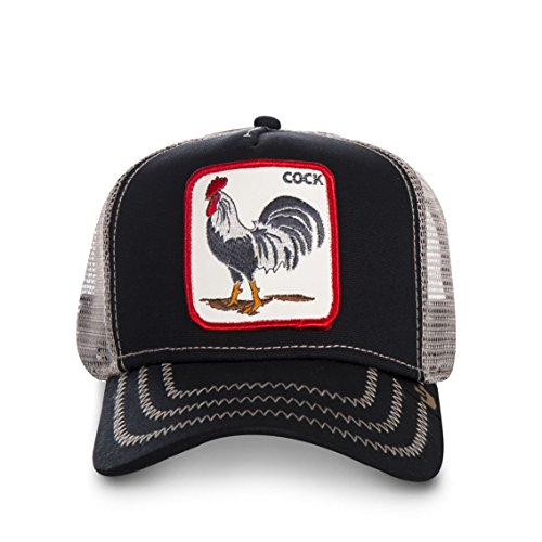 Imagen de goorin bros. men's rooster snapback baseball cap hat noir alternativa