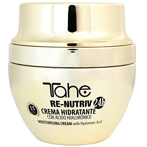 cff6f61e4 Tahe Re-Nutriv Crema de Día Hidratante Facial para Mujer con Ácido  Hialurónico con F.P.S