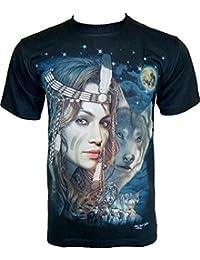 Rock Chang T-Shirt * Natural Beauty * Glow In The Dark * Noir GR501