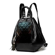 Deal Especial Womens Backpack Handbag (Red 2b61adb5ea963