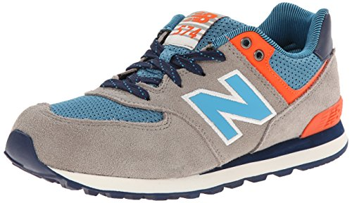 New Balance KL574, Sneakers basses fille Gris - gris