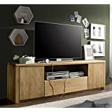 Lowboard TV Element 180cm 'Savona' Kernbuche massiv geölt Buche Holz