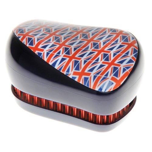Tangle Teezer Brosse Démêlante Professionnelle COMPACT Cool Britannia