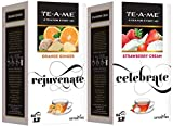 #6: TE-A-ME Oranger Ginger Infusion Tea & Strawberry Cream Infusion Tea Combo - 50 Tea Bags