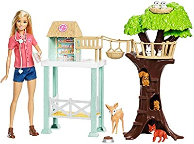 Barbie FCP78 Animal Doctor Doll with Playset
