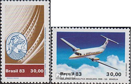 Prophila Collection Brasilien 1979,1992 (kompl.Ausg.) 1983 Ingenieurwissenschaften, Luftfahrt (Briefmarken für Sammler) Luftfahrt