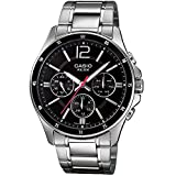 Casio Enticer Black Dial Men's Watch - M...