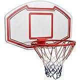vidaXL Set de Canasta de Baloncesto de Pared Tres Piezas Dimensiones 90x60 cm