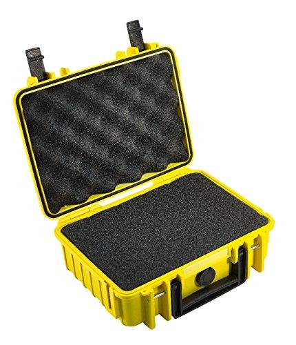 B&W outdoor.cases Typ 1000 mit Würfelschaum (SI) - Das Original