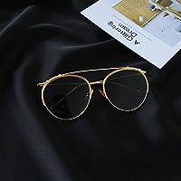 LXKMTYJ Modische einzelnen Big Box Kröte Spiegel retro street Concept Car Sonnenbrille Sonnenbrille, Rosa