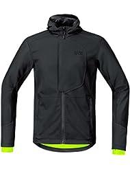 GORE BIKE WEAR, Homme, Veste de cyclisme pour la ville, chaude, WINDSTOPPER Soft Shell, ELEMENT URBAN, Taille