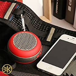 3keys Water Resistant Bluetooth Speaker, FosPower Outdoor Portable Shower Wireless Speakers with HD Audio, Enhanced Bass, Built-in Mic, Bluetooth 4.2, TWS Mode and TF Card Slot