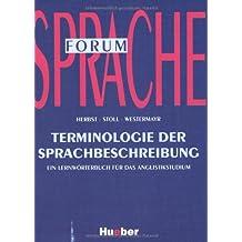 Terminologie der Sprachbeschreibung: Ein Lernwörterbuch für das Anglistikstudium