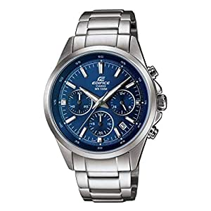 Casio Edifice Chronograph Blue Dial Men's Watch - EFR-527D-2AVUDF (EX099)