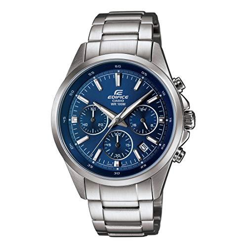 Casio Edifice Chronograph Blue Dial Men's Watch