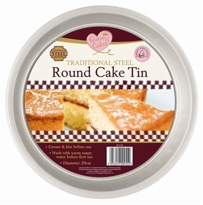 Traditional Steel Round Cake