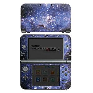 DeinDesign Skin kompatibel mit Nintendo New 3DS XL Aufkleber Sticker Folie Galaxy Galaxie Pattern