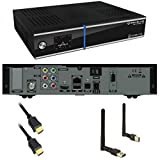 GigaBlue Giga Blue HD ULTRA UE FULLHD Sat Receiver LCD Display Linux USB LAN 800 Plus UE + WLan Mega Stick von PremiumX
