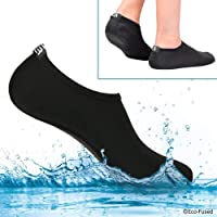 Water Socks for Women - Extra Comfort - Protects Against Sand, Cold/Hot Water, UV, Rocks/Pebbles - Easy Fit Footwear for Swimming
