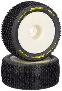 Jamara 54862 - Neumáticos + Llantas (Escala 01:08, T-Pirate, Muy Blandos, 1/2 Offset)