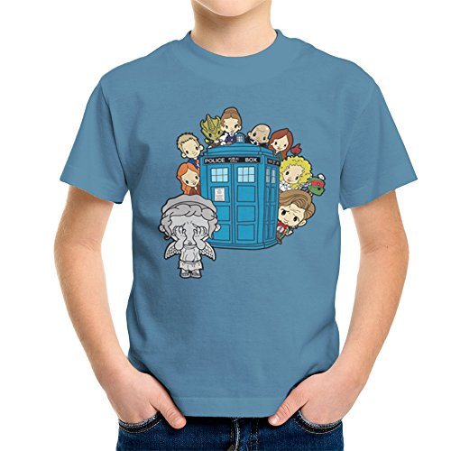 ngel Hide and Seek Matt Smith Tardis Kid's T-Shirt (Doctor Who River Song, Shirt)