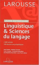 Dictionnaire de Linguistiue Coll Université Np