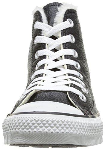 Cook N Home Chuck Taylor All Star Adulte Shearling Hi - Sneaker, , taglia 8 Noir