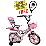 Speed Bird Robust 14-T - Baby Cycle For Boys & Girls - Age Group 3-6 Years (Color Pink)