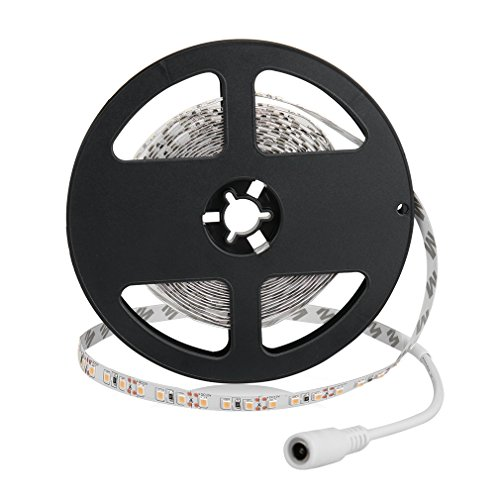Auralum® 5M Warmweiß SMD 3528 600 Leds 12V 48W 2400LM IP20 Flexible LED Streifen Strip Band Leiste