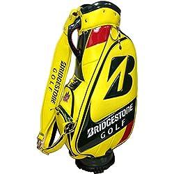 Bolsa de golf BRIDGESTONE Staff US Master, Yellow/Green, 48 x 32 x 90 cm, 90 litros, 3b5105ma