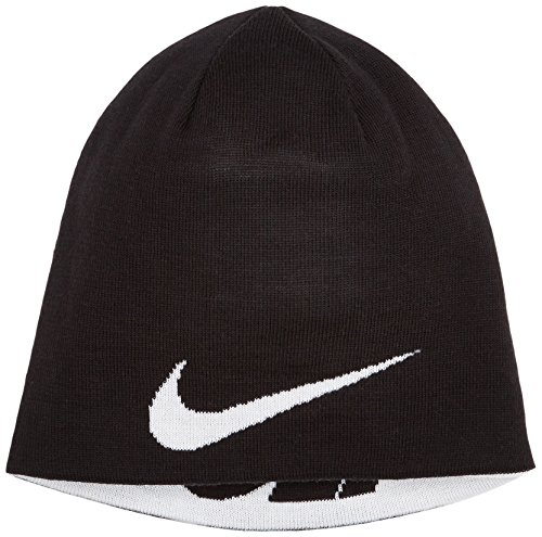 Nike Reversible Mütze, Black/White, One Size