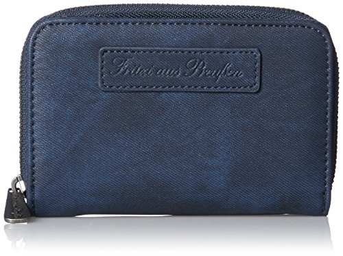 Fritzi aus Preussen Damen Svantje Geldbörse, Blau (Aviator), 3x9.5x15 cm