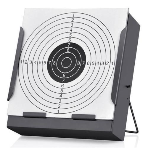 benhalter für Trichter, 14 cm, inkl. 100 Zielscheiben für Luftgewehr, with 100 Paper Target ()
