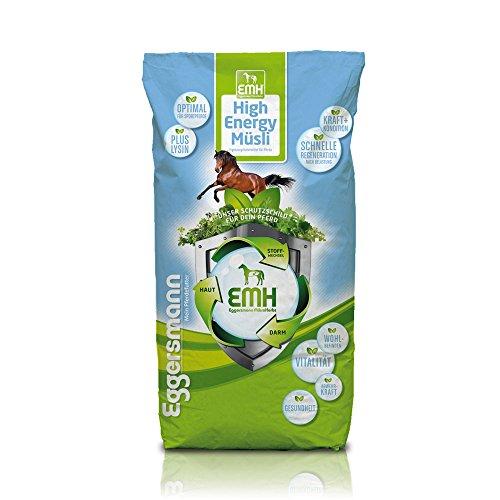 Eggersmann EMH High Energie Müsli - Pferdemüsli für Sport- und Hochleistungspferde - Spezialmüsli mit Lysin - 20 kg Sack