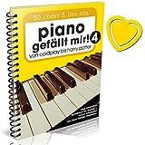 Piano gefällt mir! Band 4-50 Chart und Film Hits - von Coldplay bis Harry Potter - das ultimative Spielbuch für Klavier von Hans-Günter Heumann (Variante Spiralbindung mit Notenklammer)