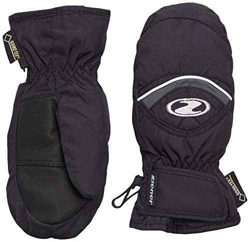 Junior Snowboard Bekleidung (Ziener Jungen Handschuhe Lisbo GTX R Mitten Gloves Junior Kinderhandschuhe, Black, 6.5)