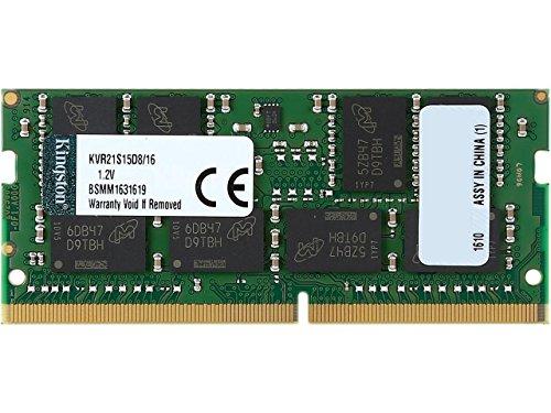 Kingston KVR21S15D8/16 Value RAM Server (SODIMM, 16GB, 2133MHz, DDR4, CL15)