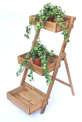 DanDiBo Blumentreppe Fiora aus Holz