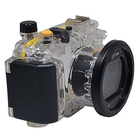 Mcoplus® 40 M 130 ft wasserdicht stoßfest Tauchen Gehäuse Gehäuse für Canon WP-DC43 Powershot S100 WPDC43