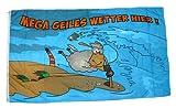 Fahne Mega geiles Wetter Schaf NEU 90 x 150 cm Flaggen