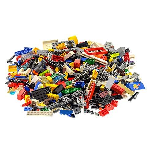 Bausteine gebraucht 500 Teile Lego System Steine Kiloware Sonderteile Form Größe bunt gemischt 0,70 kg z.B. Räder Platten Fenster