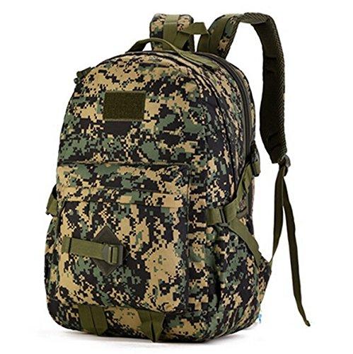 Mefly 40 L Taktiken Militärischen Tasche Rucksack Schule Rucksäcke Für Junge Mädchen Teenager An Der High School Middle School Taschen Große Kapazität jungle